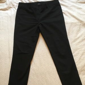 Loft Black Pants 12 Marissa Skinny